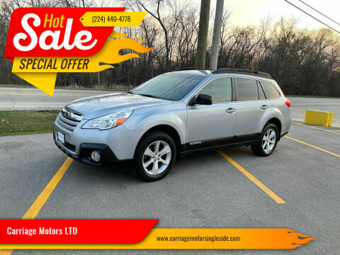 2014 Subaru Outback for sale at Carriage Motors LTD in Ingleside IL