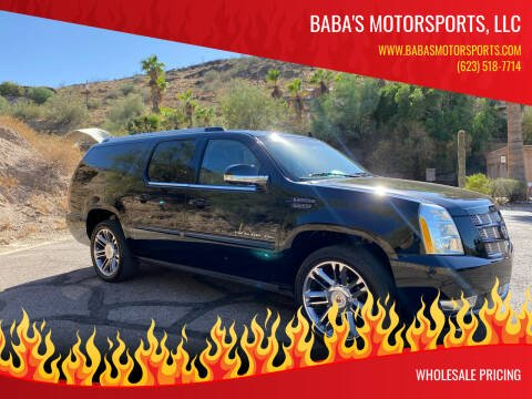 2013 Cadillac Escalade ESV for sale at Baba's Motorsports, LLC in Phoenix AZ