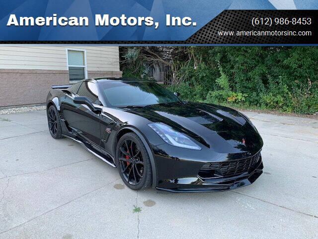 2019 Chevrolet Corvette for sale at American Motors, Inc. in Farmington MN