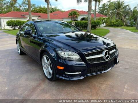 2014 Mercedes-Benz CLS for sale at Autohaus of Naples Inc. in Naples FL