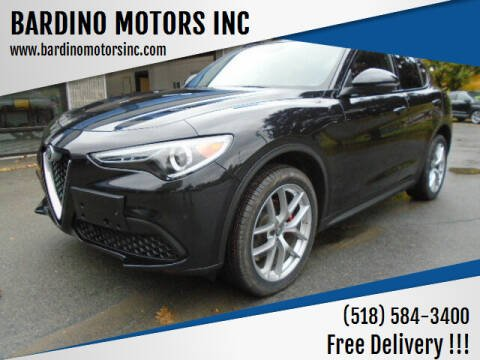 2018 Alfa Romeo Stelvio for sale at BARDINO MOTORS INC in Saratoga Springs NY