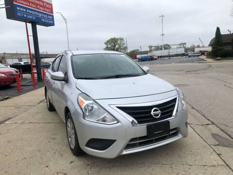 2016 Nissan Versa for sale at Nationwide Auto Group in Melrose Park IL