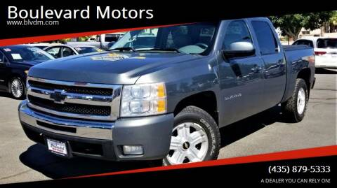 2011 Chevrolet Silverado 1500 for sale at Boulevard Motors in St George UT