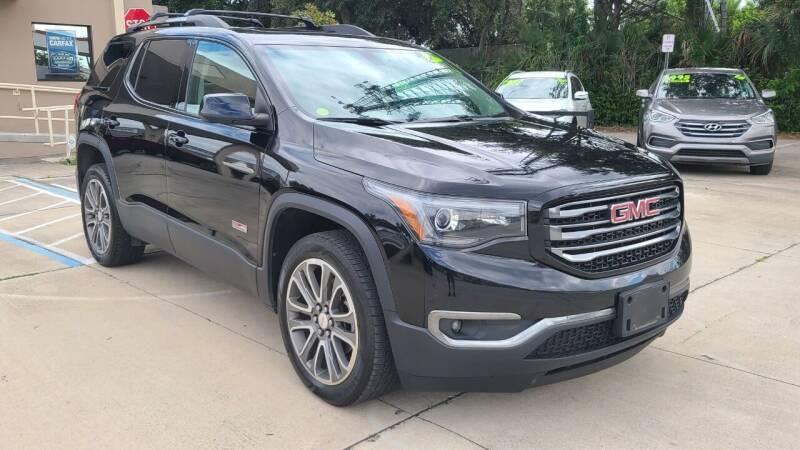 2017 GMC Acadia for sale at Dunn-Rite Auto Group in Longwood FL