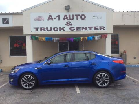2015 Kia Optima for sale at A-1 AUTO AND TRUCK CENTER in Memphis TN