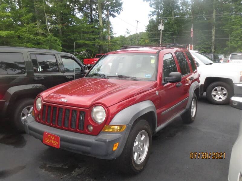 2009 Jeep Liberty for sale at D & F Classics in Eliot ME