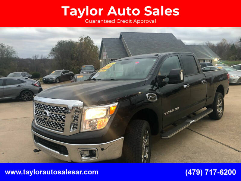 2017 Nissan Titan XD for sale at Taylor Auto Sales in Springdale AR