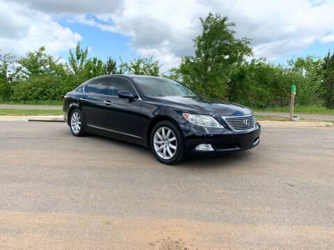 2007 Lexus LS 460 for sale at Tennessee Valley Wholesale Autos LLC in Huntsville AL