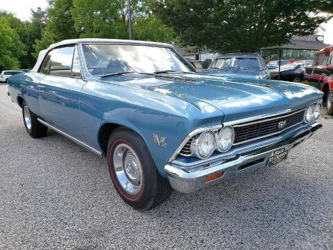 1966 Chevrolet Chevelle for sale at Black Tie Classics in Stratford NJ