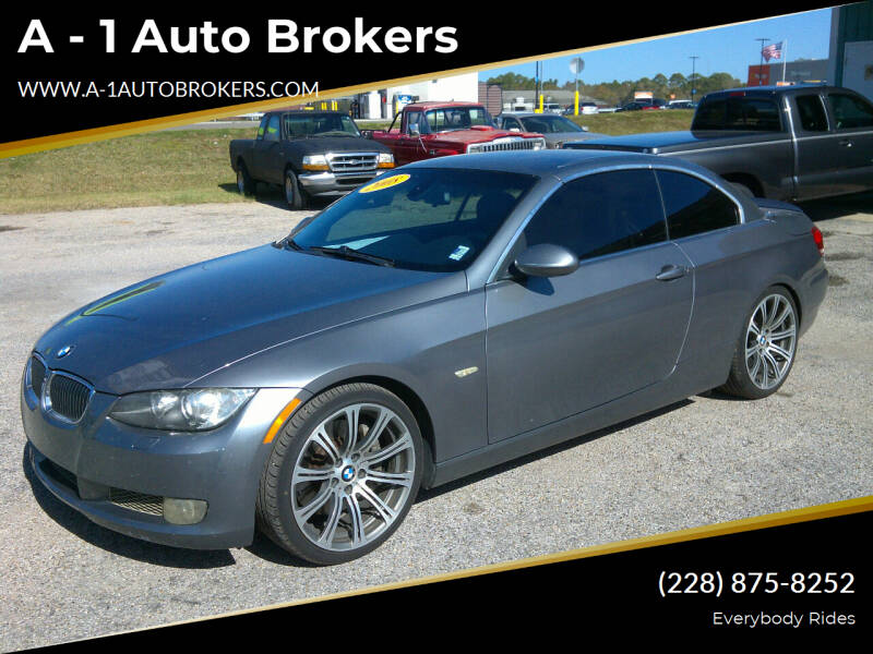 2008 BMW 3 Series for sale at A - 1 Auto Brokers in Ocean Springs MS