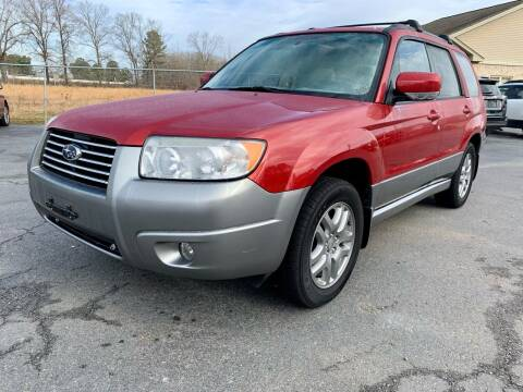 2007 Subaru Forester for sale at Airbase Auto Sales in Cabot AR