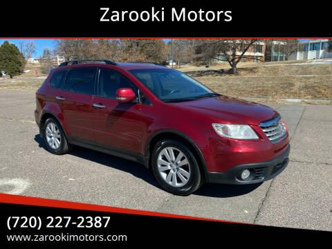 2009 Subaru Tribeca for sale at Zarooki Motors in Englewood CO