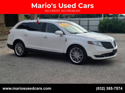 2013 Lincoln MKT for sale at Mario's Used Cars - Pasadena Location in Pasadena TX