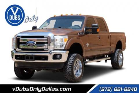 2012 Ford F-250 Super Duty for sale at VDUBS ONLY in Dallas TX