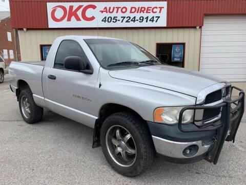 2005 Dodge Ram Pickup 1500 for sale at OKC Auto Direct in Oklahoma City OK