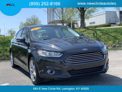 2013 Ford Fusion for sale at New Circle Auto Sales LLC in Lexington KY