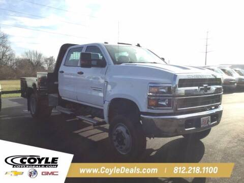 2020 Chevrolet Silverado Medium Duty for sale at COYLE GM - COYLE NISSAN - New Inventory in Clarksville IN