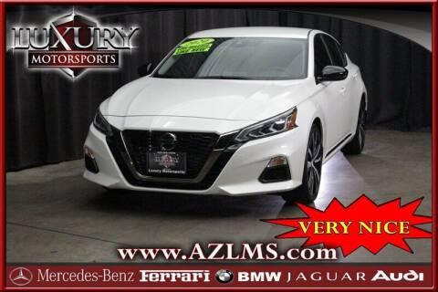 2020 Nissan Altima for sale at Luxury Motorsports in Phoenix AZ
