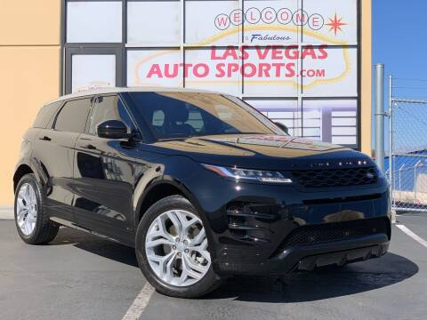 2020 Land Rover Range Rover Evoque for sale at Las Vegas Auto Sports in Las Vegas NV
