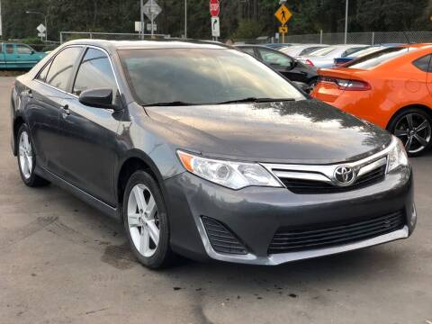 2013 Toyota Camry for sale at ALHAMADANI AUTO SALES in Spanaway WA