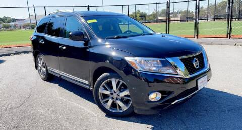 2016 Nissan Pathfinder for sale at Maxima Auto Sales in Malden MA