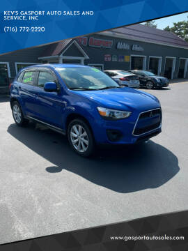2015 Mitsubishi Outlander Sport for sale at KEV'S GASPORT AUTO SALES AND SERVICE, INC in Gasport NY