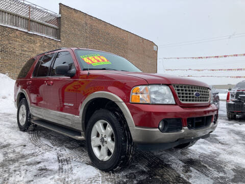 2004 Ford Explorer for sale at RON'S AUTO SALES INC in Cicero IL