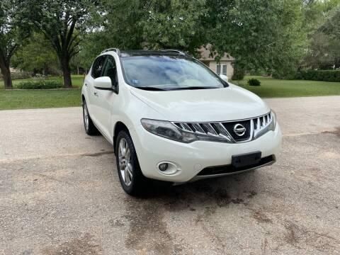 2010 Nissan Murano for sale at CARWIN MOTORS in Katy TX
