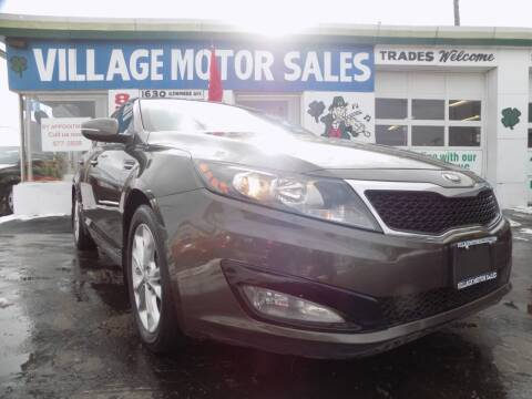 2013 Kia Optima for sale at Village Motor Sales in Buffalo NY