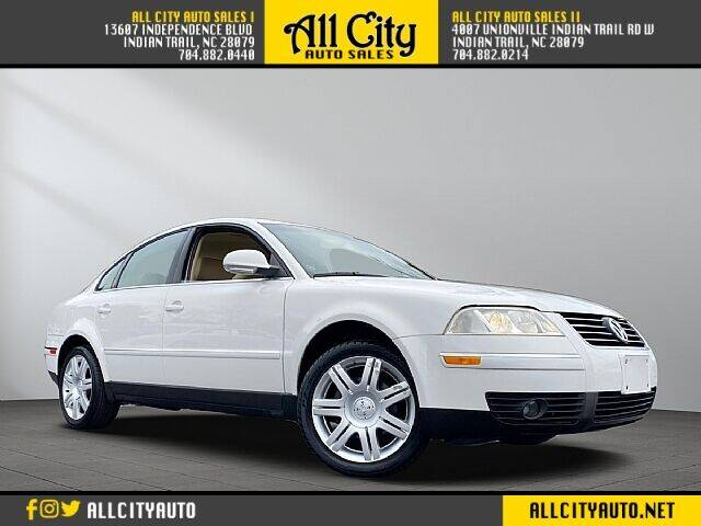 2005 Volkswagen Passat for sale at All City Auto Sales II in Indian Trail NC