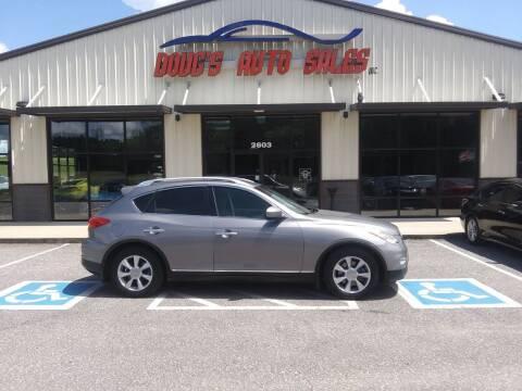 2008 Infiniti EX35 for sale at DOUG'S AUTO SALES INC in Pleasant View TN