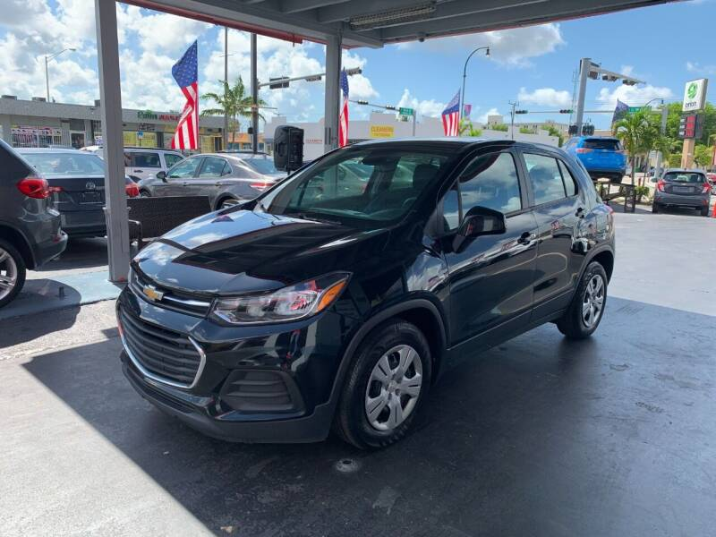 2018 Chevrolet Trax for sale at American Auto Sales in Hialeah FL