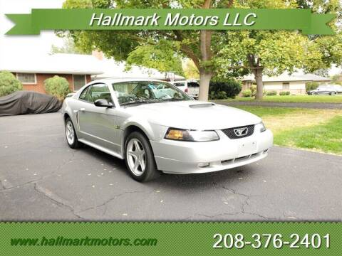 2002 Ford Mustang for sale at HALLMARK MOTORS LLC in Boise ID