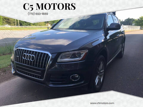 2016 Audi Q5 for sale at C5 Motors in Marietta GA