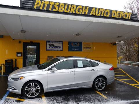 2017 Ford Fusion for sale at Pittsburgh Auto Depot in Pittsburgh PA
