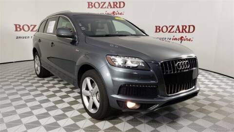 2014 Audi Q7 for sale at BOZARD FORD in Saint Augustine FL