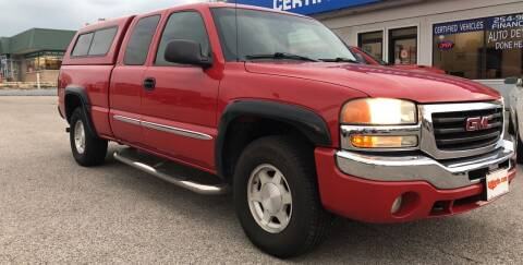 2004 GMC Sierra 1500 for sale at Perrys Certified Auto Exchange in Washington IN