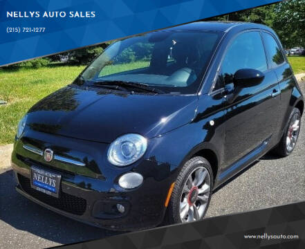 2015 FIAT 500 for sale at NELLYS AUTO SALES in Souderton PA