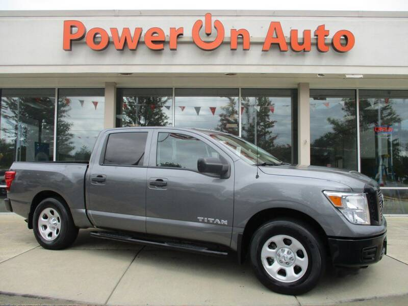 2017 Nissan Titan for sale at Power On Auto LLC in Monroe NC