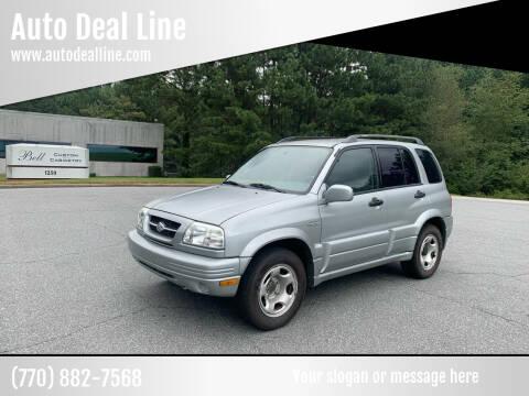 2000 Suzuki Grand Vitara for sale at Auto Deal Line in Alpharetta GA