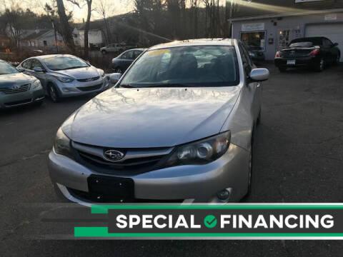 2011 Subaru Impreza for sale at VERNON MOTOR CARS in Vernon Rockville CT