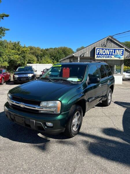 2003 Chevrolet TrailBlazer for sale at Frontline Motors Inc in Chicopee MA