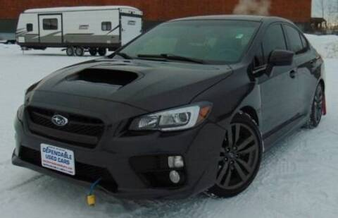 2015 Subaru WRX for sale at Dependable Used Cars in Anchorage AK