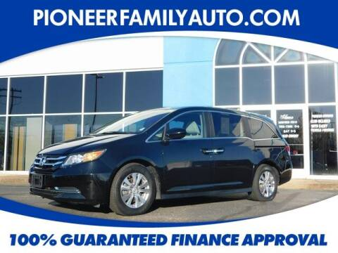2016 Honda Odyssey for sale at Pioneer Family auto in Marietta OH