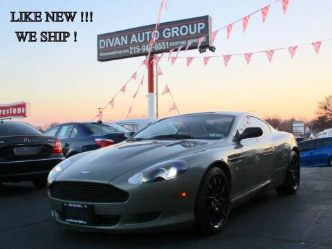 2005 Aston Martin DB9 for sale at Divan Auto Group in Feasterville PA
