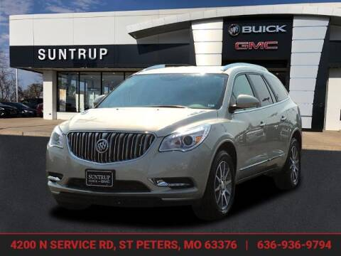 2014 Buick Enclave for sale at SUNTRUP BUICK GMC in Saint Peters MO
