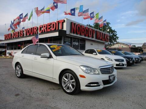 2012 Mercedes-Benz C-Class for sale at Giant Auto Mart 2 in Houston TX