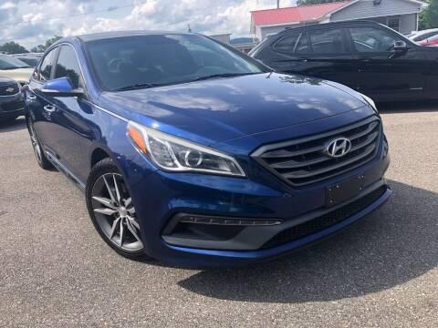 2015 Hyundai Sonata for sale at RPM AUTO LAND in Anniston AL