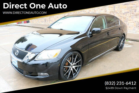 2010 Lexus GS 350 for sale at Direct One Auto in Houston TX