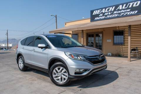 2016 Honda CR-V for sale at Beach Auto and RV Sales in Lake Havasu City AZ